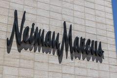 Las Vegas - Około Lipiec 2017: Neiman Marcus sklep przy pokazu mody centrum handlowym na pasku Neiman Marcus ustanawiał 1907 II obraz stock