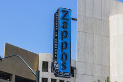 Las Vegas - Około Lipiec 2017: Zappos com jest onlinym buta i odzieży sklepem amazon com nabyty Zappos w 2009 I Zdjęcia Stock