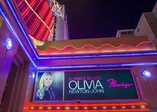 Las Vegas , Olivia Newton-John Stock Images