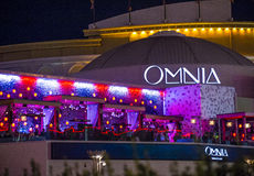 Las Vegas , Omnia Night club Royalty Free Stock Images
