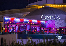 Las Vegas , Omnia Night club Stock Image