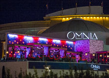 Las Vegas , Omnia Night club Stock Photos
