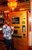 Las Vegas: Oro a ir Imagen de archivo libre de regalías