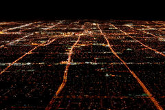 Las Vegas Overhead View royalty free stock photography