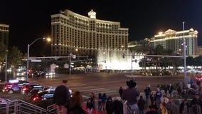 Las Vegas på nätterna royaltyfri bild