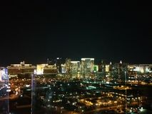Las Vegas på natt 2 Fotografering för Bildbyråer