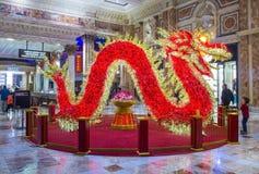 Las Vegas, palacio de Ceasars Imágenes de archivo libres de regalías