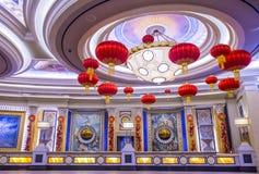 Las Vegas, palacio de Ceasars Fotos de archivo