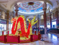 Las Vegas, palacio de Ceasars Fotografía de archivo