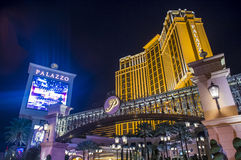 Las Vegas, Palazzo Royalty-vrije Stock Foto's