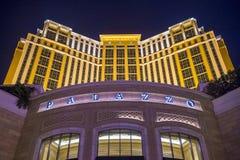 Las Vegas, Palazzo Stock Afbeelding