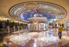 Las Vegas - Palazzo-binnenland Stock Foto's