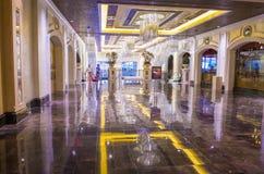 Las Vegas - Palazzo-binnenland Royalty-vrije Stock Afbeeldingen