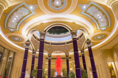Las Vegas - Palazzo-binnenland Stock Fotografie