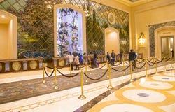 Las Vegas - Palazzo-binnenland Stock Afbeelding