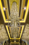 Las Vegas - Palazzo inre Arkivfoto