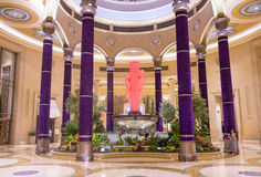 Las Vegas - Palazzo inre Arkivfoton