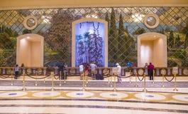 Las Vegas - Palazzo inre Royaltyfria Foton