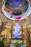 Las Vegas Palazzo inre Arkivbilder