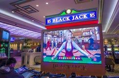 Las Vegas Palazzo interior Royalty Free Stock Photos