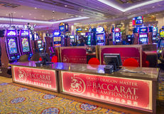 Las Vegas Palazzo interior Royalty Free Stock Photography