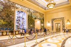 Las Vegas, Palazzo wnętrze - Zdjęcia Royalty Free