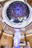 Las Vegas, Palazzo wnętrze - Obraz Royalty Free
