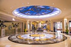 Las Vegas, Palazzo wnętrze - Obrazy Stock