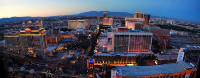 Las Vegas Panorama Royalty Free Stock Photography