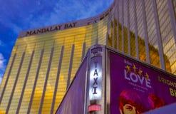 Las Vegas par jour Photos libres de droits