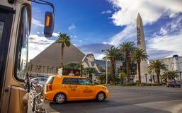 Las Vegas par jour Image libre de droits