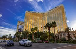 Las Vegas par jour Images stock