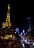 Las Vegas par nuit Photo stock