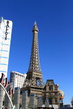 Las Vegas - Paris Hotel and Casino Royalty Free Stock Photos