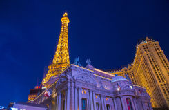 Las Vegas, Paris hotel Stock Photography