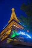 Las Vegas, Paris hotel. LAS VEGAS - JUNE 15 : The Paris Las Vegas hotel and casino on June 15 , 2014 in Las Vegas, Nevada, USA. It includes a half scale, 541 royalty free stock photo