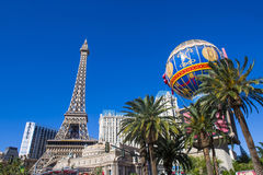 Las Vegas, Paris hotel Stock Photos
