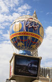 Las Vegas, Paris hotel sign stock photography