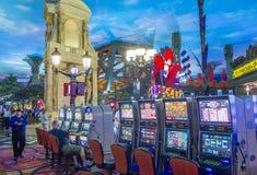 Las Vegas Paris hotell Royaltyfri Foto