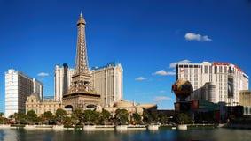 Las Vegas Paris Panorama Stock Photos