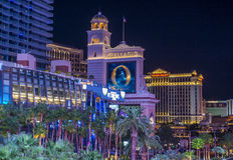 las Vegas pas Obrazy Stock