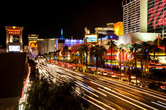 Las Vegas, pasek Obraz Stock