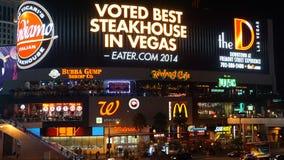 Las Vegas pasek w Nevada obraz royalty free