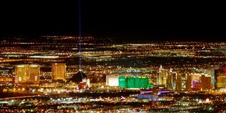 Las Vegas Paska Południe Końcówka obrazy stock