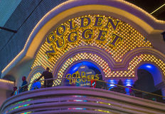 Las Vegas, pepita de oro Imágenes de archivo libres de regalías