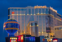 Las Vegas, Planeet Hollywood Stock Afbeeldingen