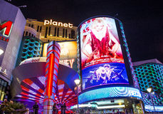 Las Vegas, Planeet Hollywood Stock Afbeelding