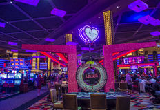 Las Vegas, Planeet Hollywood Stock Foto