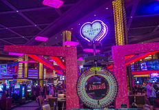 Las Vegas, Planeet Hollywood Royalty-vrije Stock Fotografie