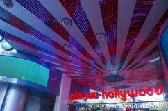 Las Vegas planet Hollywood Arkivbild